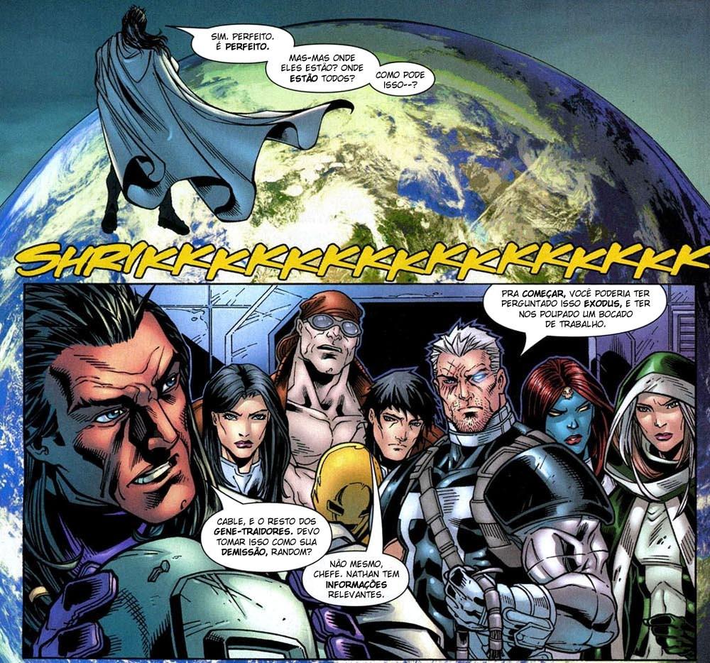 X-Men Annual 2007 1