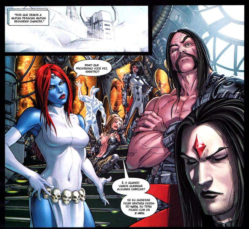 X-Men Espécie em Extinção 10