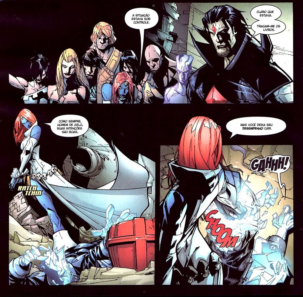 X-Men Espécie em Extinção 12