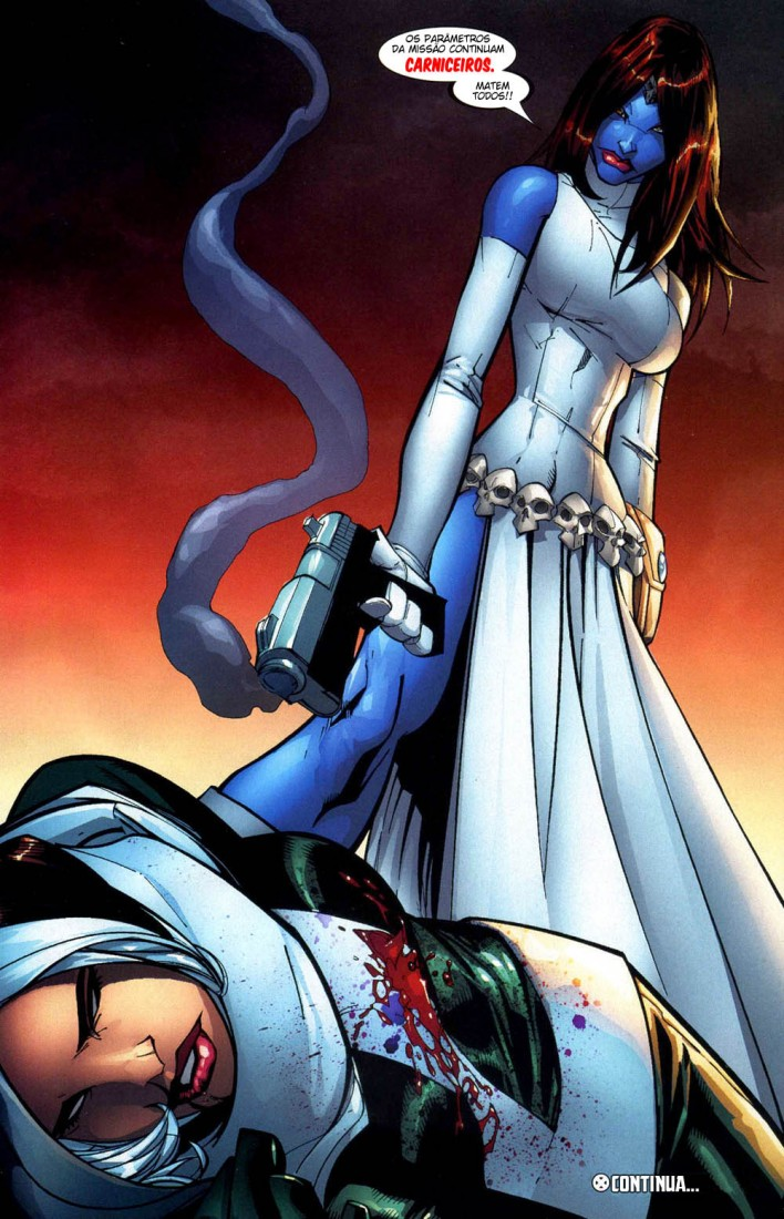 X-Men Espécie em Extinção 16