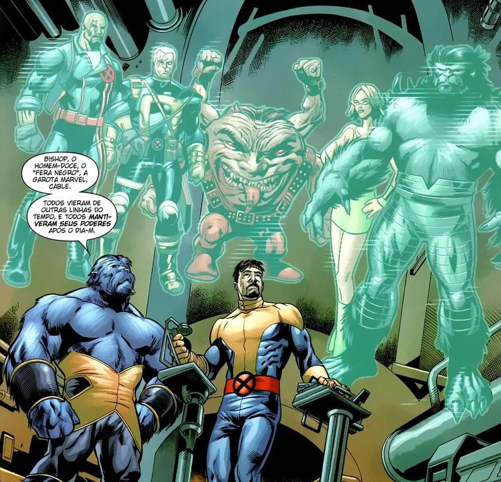 X-Men Espécie em Extinção 19