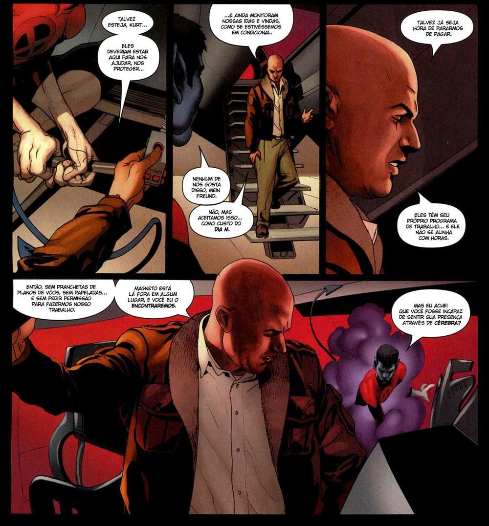 X-Men Espécie em Extinção 4