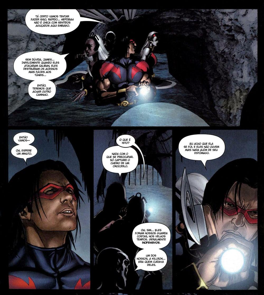 X-Men Espécie em Extinção 5