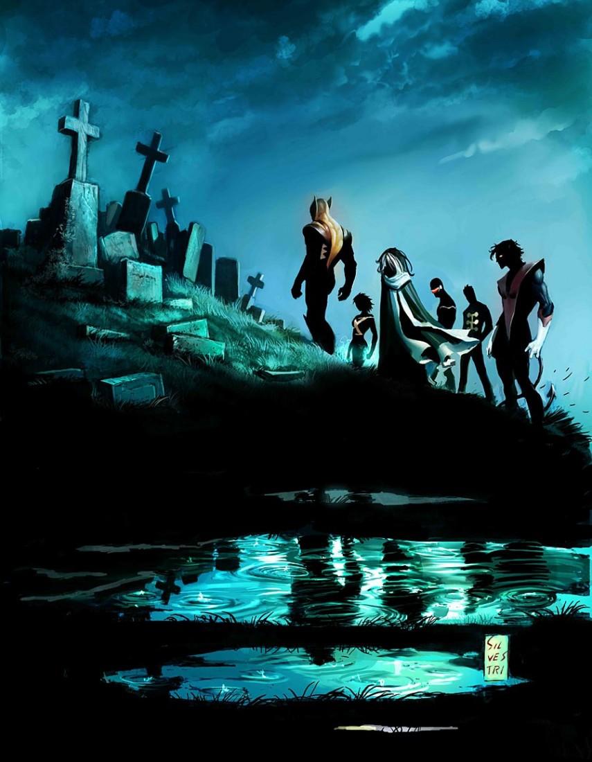 X-Men Espécie em Extinção Capa