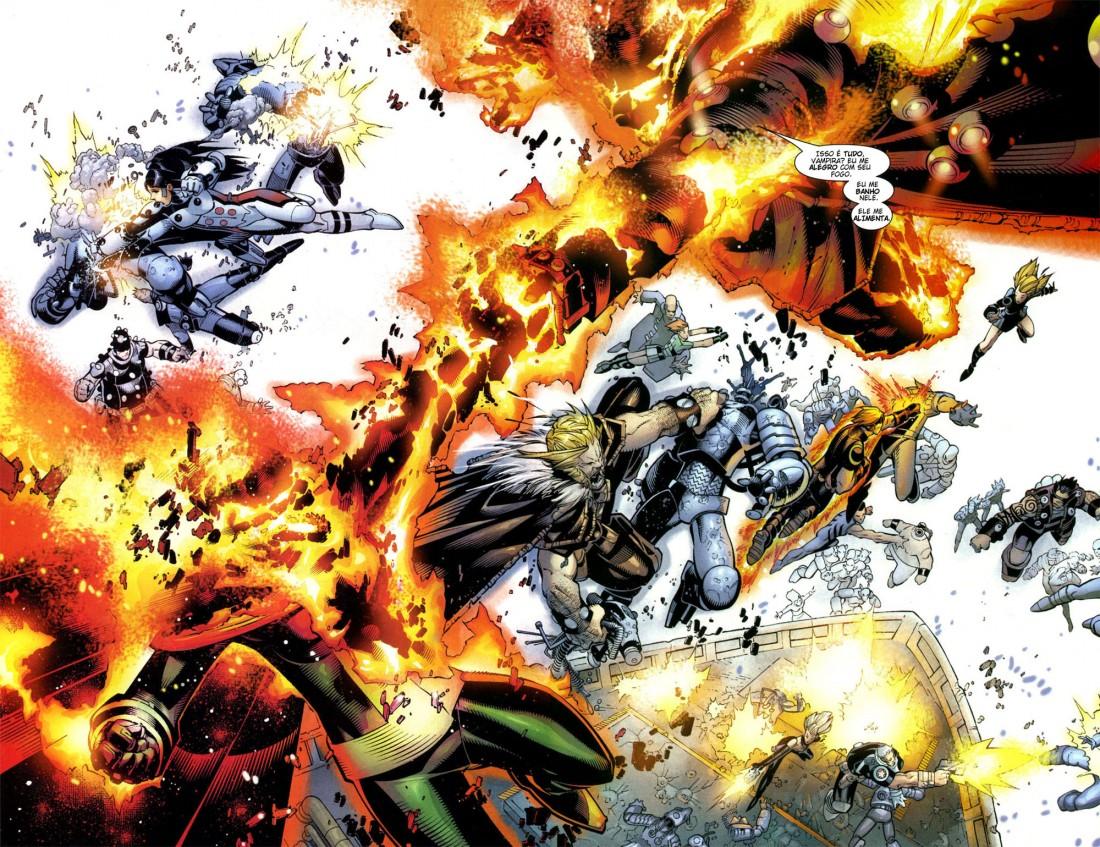 X-Men Supernovas e Infecção Primária 11