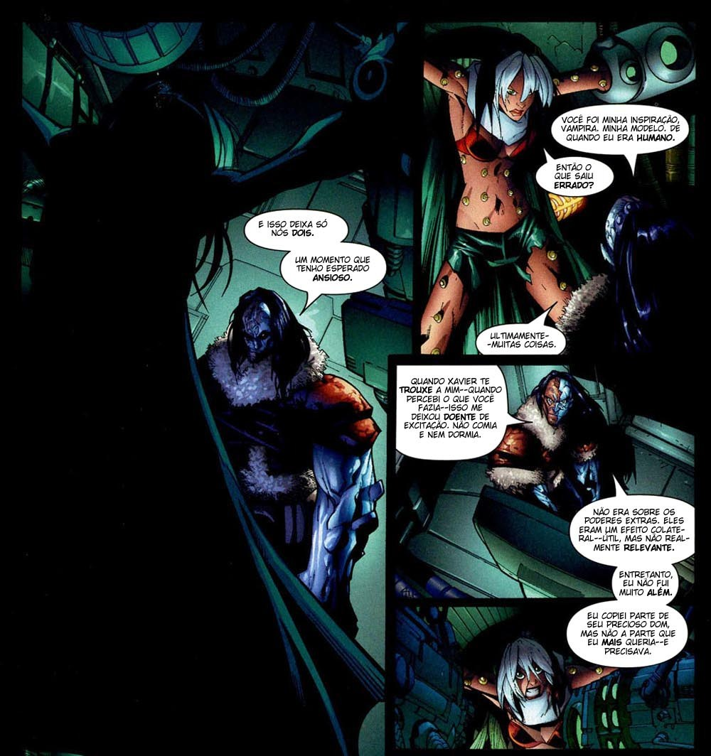 X-Men Supernovas e Infecção Primária 12