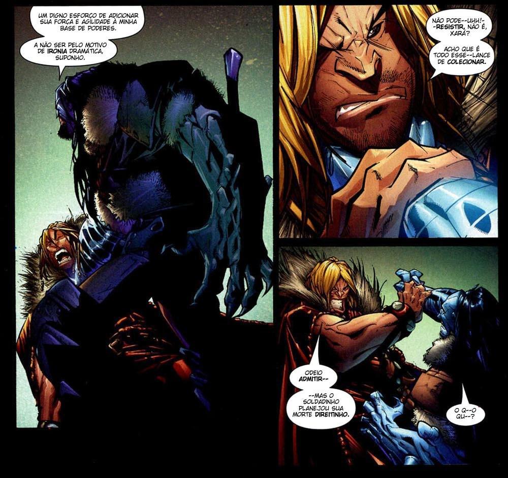 X-Men Supernovas e Infecção Primária 13