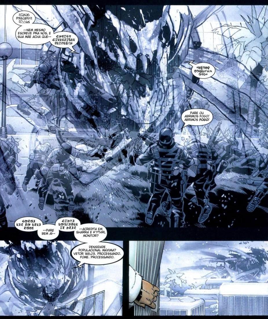 X-Men Supernovas e Infecção Primária 4