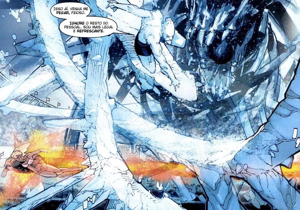 X-Men Supernovas e Infecção Primária 5