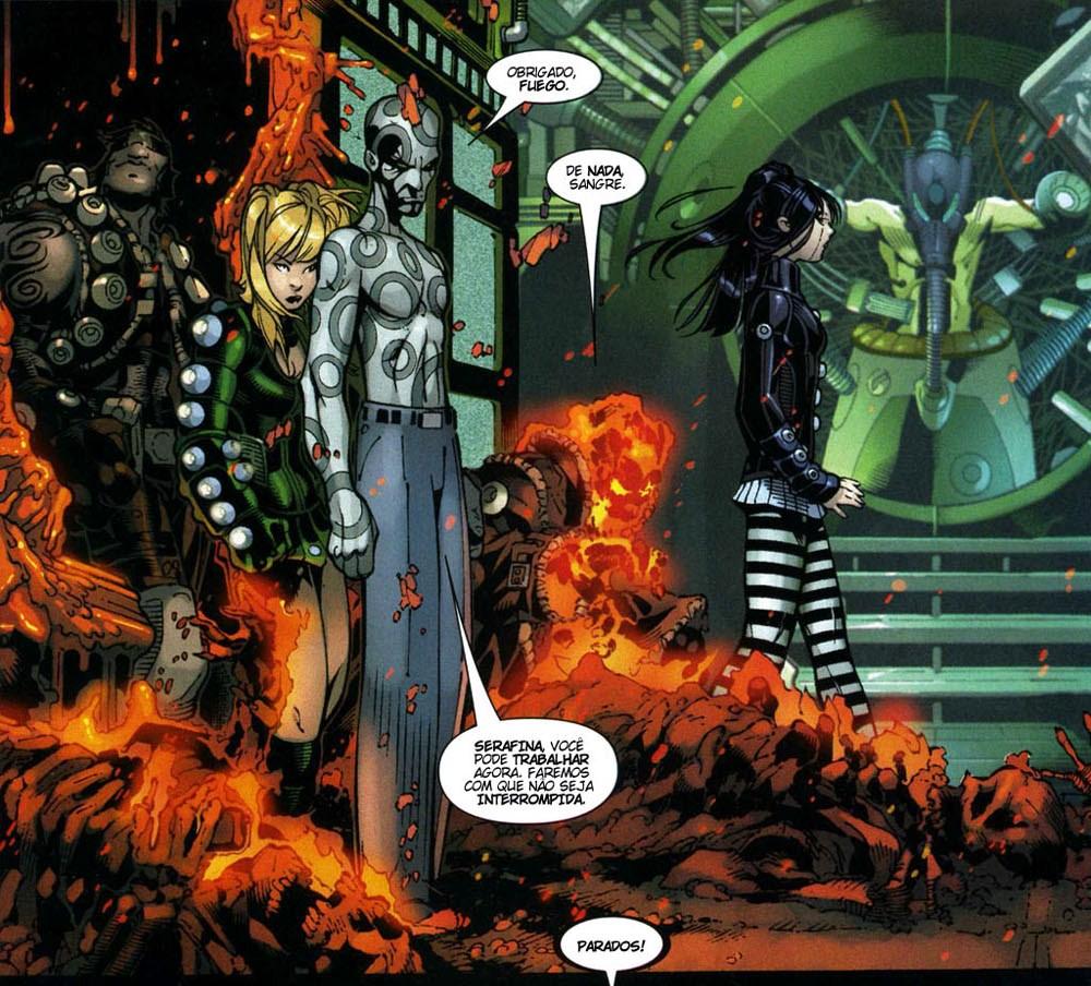 X-Men Supernovas e Infecção Primária 7