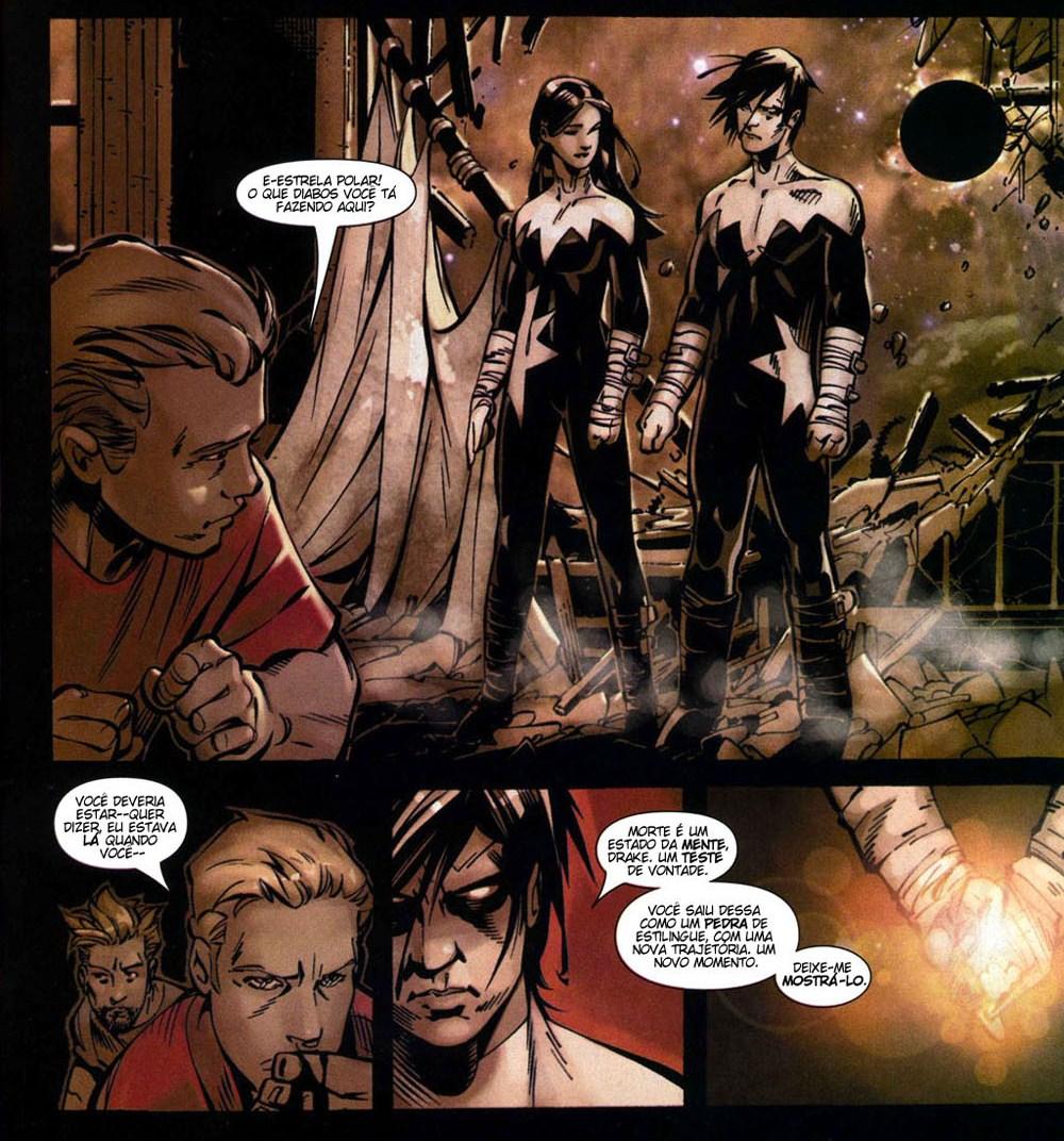 X-Men Supernovas e Infecção Primária 8