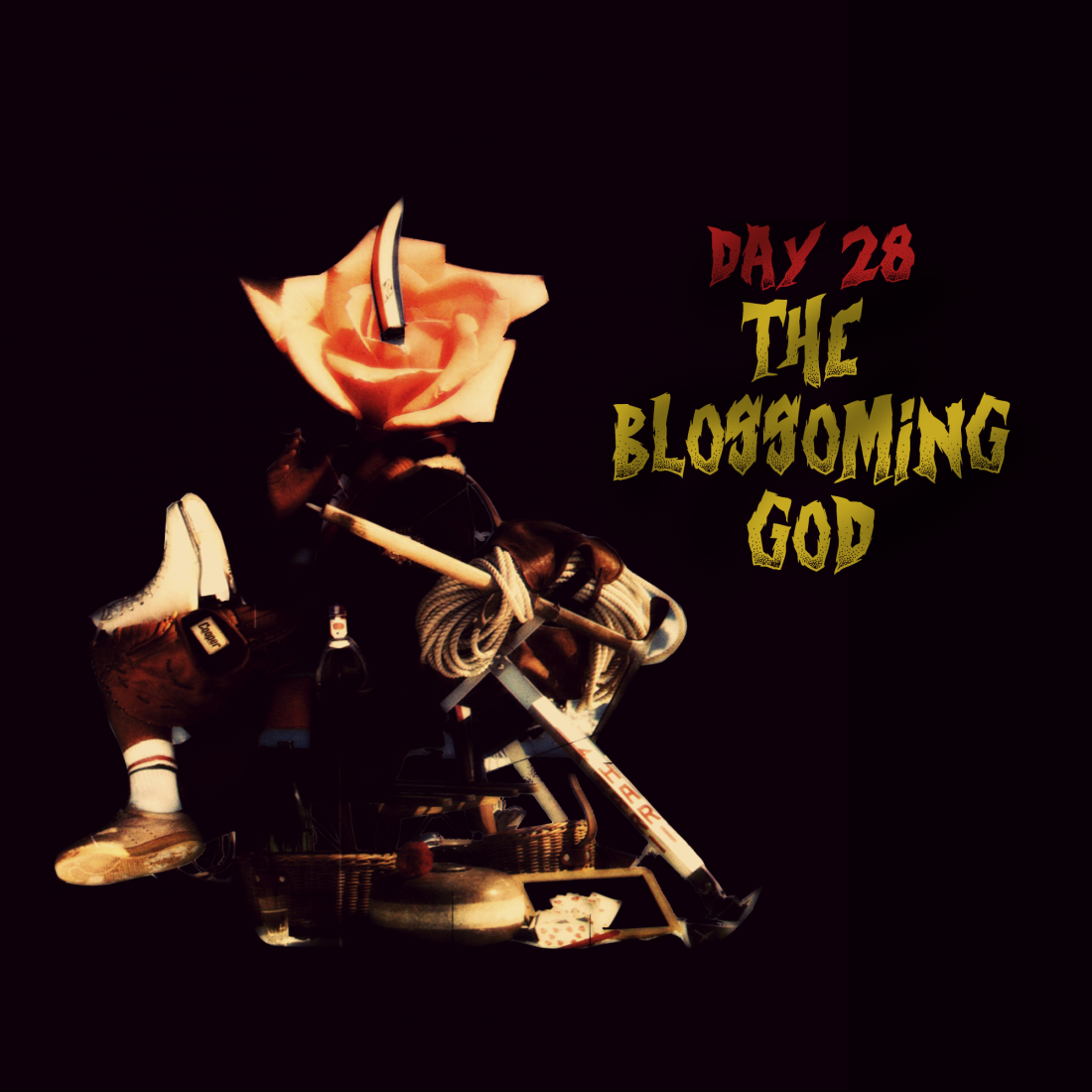 drawlloween-28-the-blossoming-god