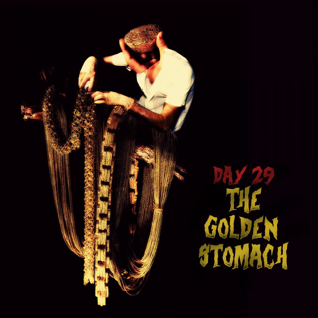 drawlloween-29-the-golden-stomach
