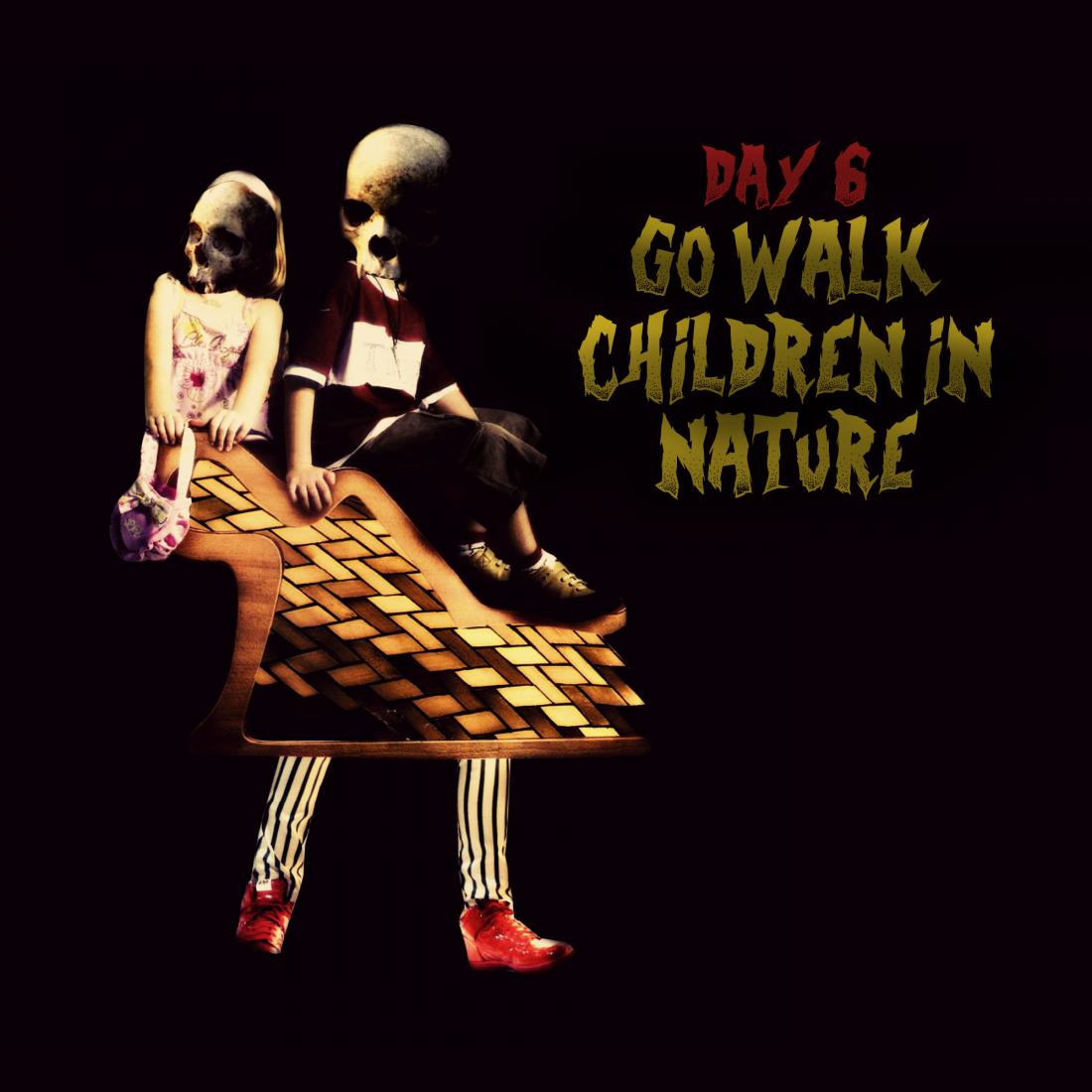 drawlloween-6-go-walk-children-in-nature