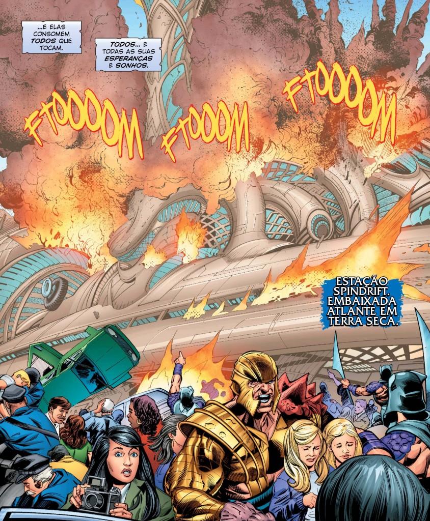 Aquaman Rebirth - Atentado à Embaixada Atlante 1