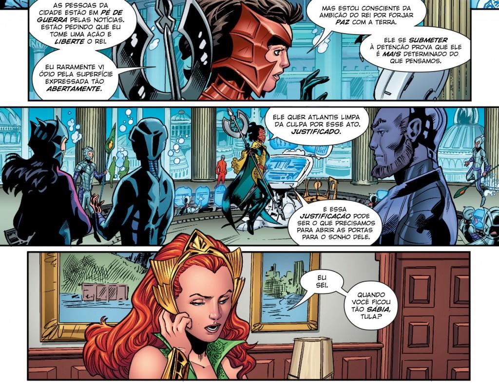 Aquaman Rebirth - Atentado à Embaixada Atlante 3