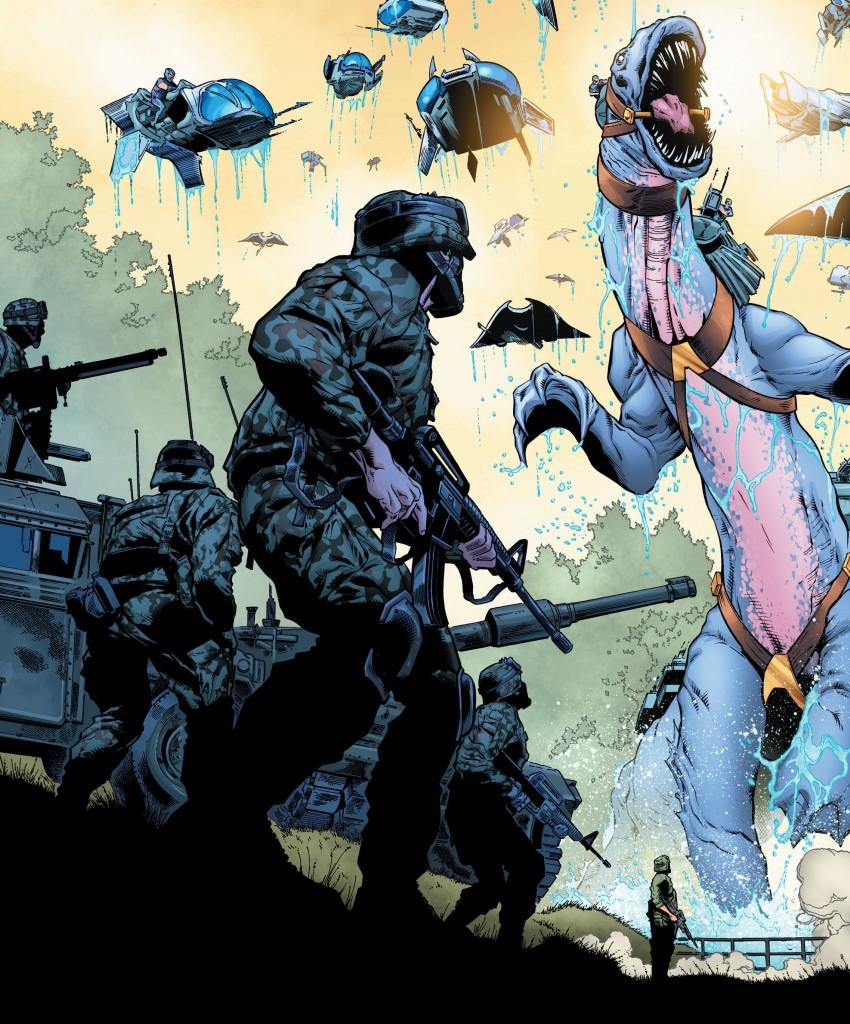 Aquaman Rebirth - Atentado à Embaixada Atlante 5