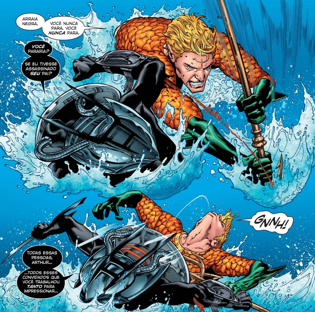 Aquaman Rebirth - Atentado à Embaixada Atlante 2