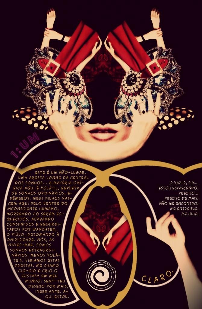 Central dos Sonhos - Tormentos Fanzine Página 1