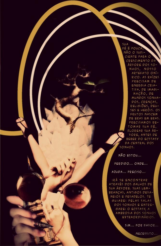 Central dos Sonhos - Tormentos Fanzine Página 2