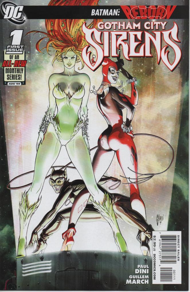 Sereias de Gotham Vol 1 - União Feminina Destaque 1