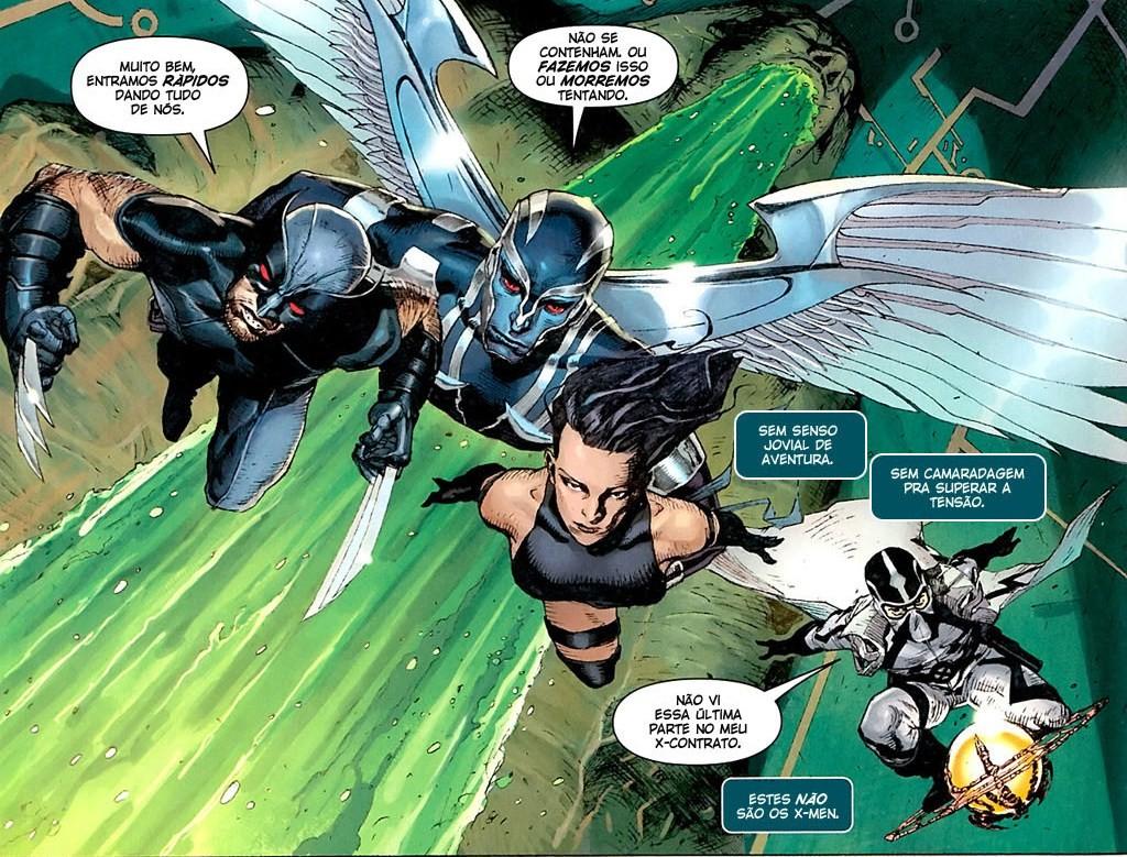 Fabulosa X-Force - Solução Apocalíptica e Nação Deathlock 1