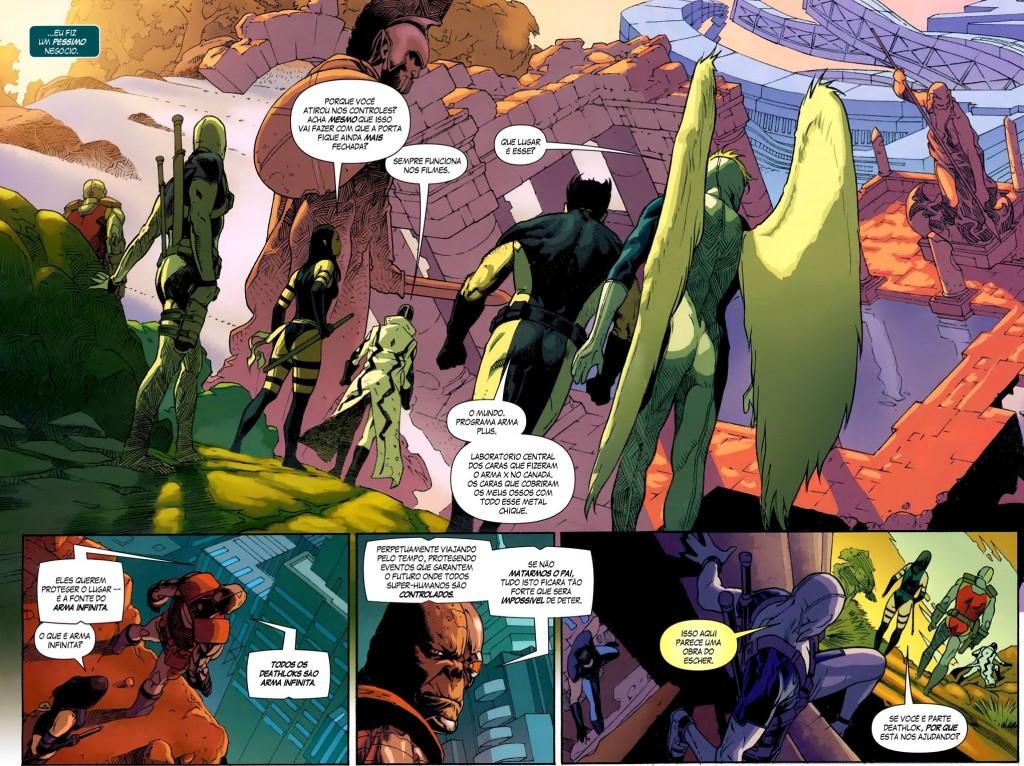Fabulosa X-Force - Solução Apocalíptica e Nação Deathlock 7