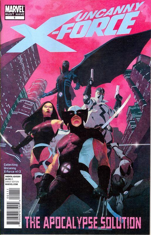 Fabulosa X-Force - Solução Apocalíptica e Nação Deathlock Destaque 1