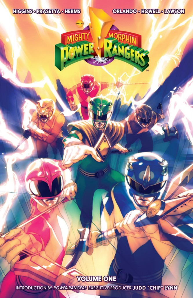 Mighty Morphin Power Rangers Quadrinho Volume 1 Destaque