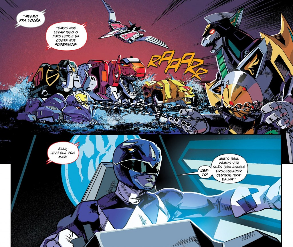 Mighty Morphin Power Rangers Volume 1 2
