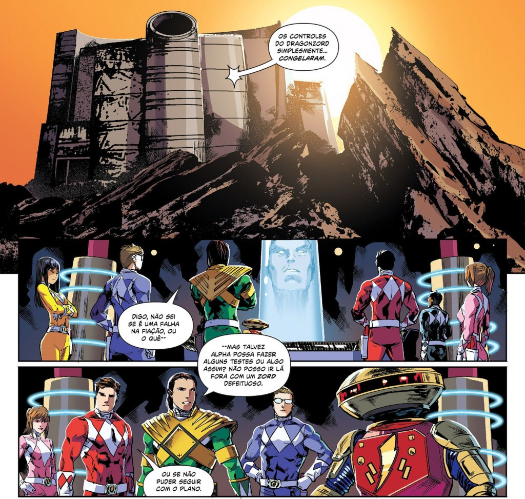 Mighty Morphin Power Rangers Volume 1 3