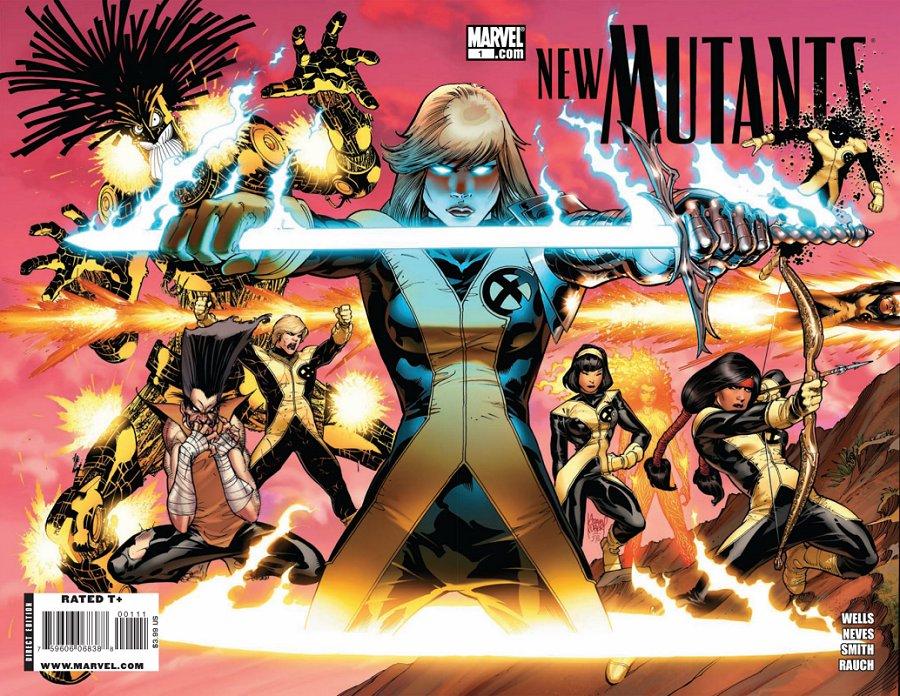 Novos Mutantes - Retorno de Legião e Necrosha Destaque 1