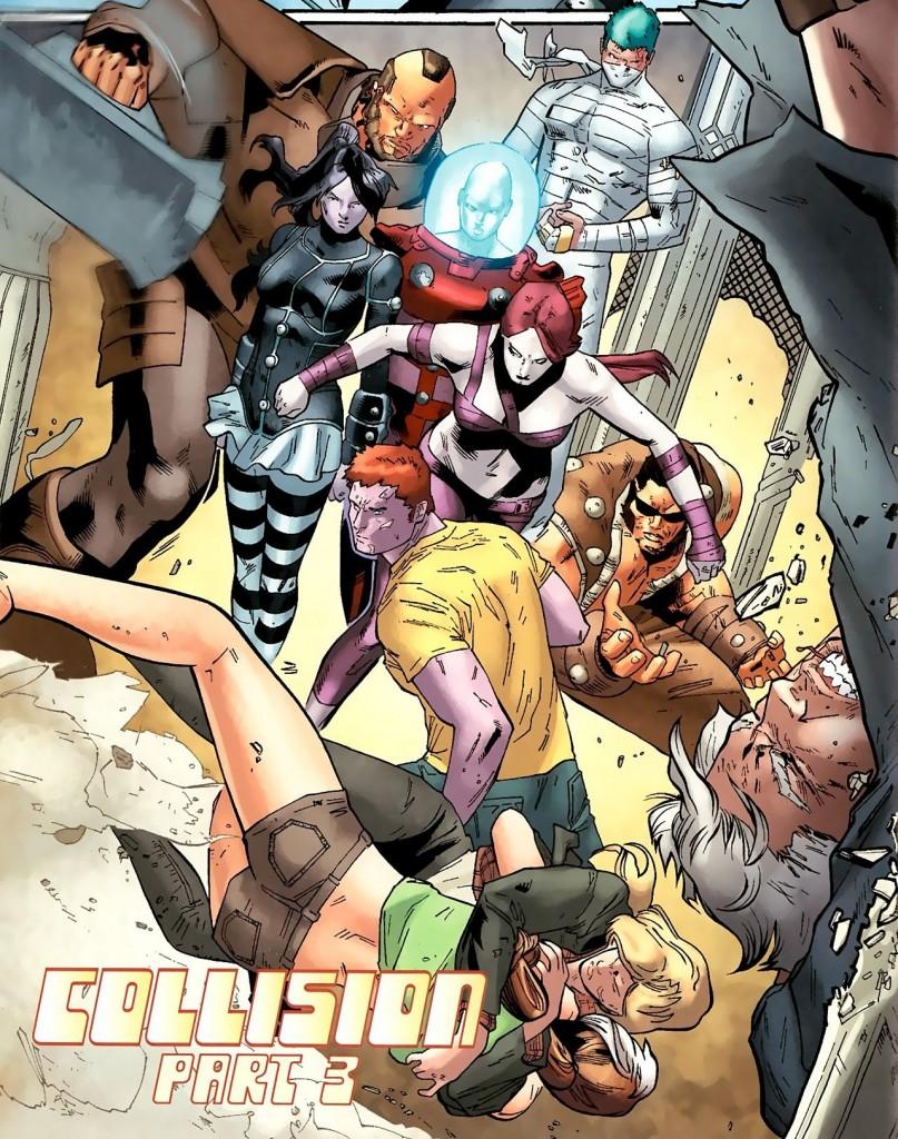 X-Men Legado - Colisão e Fábulas da Reconstrução 3