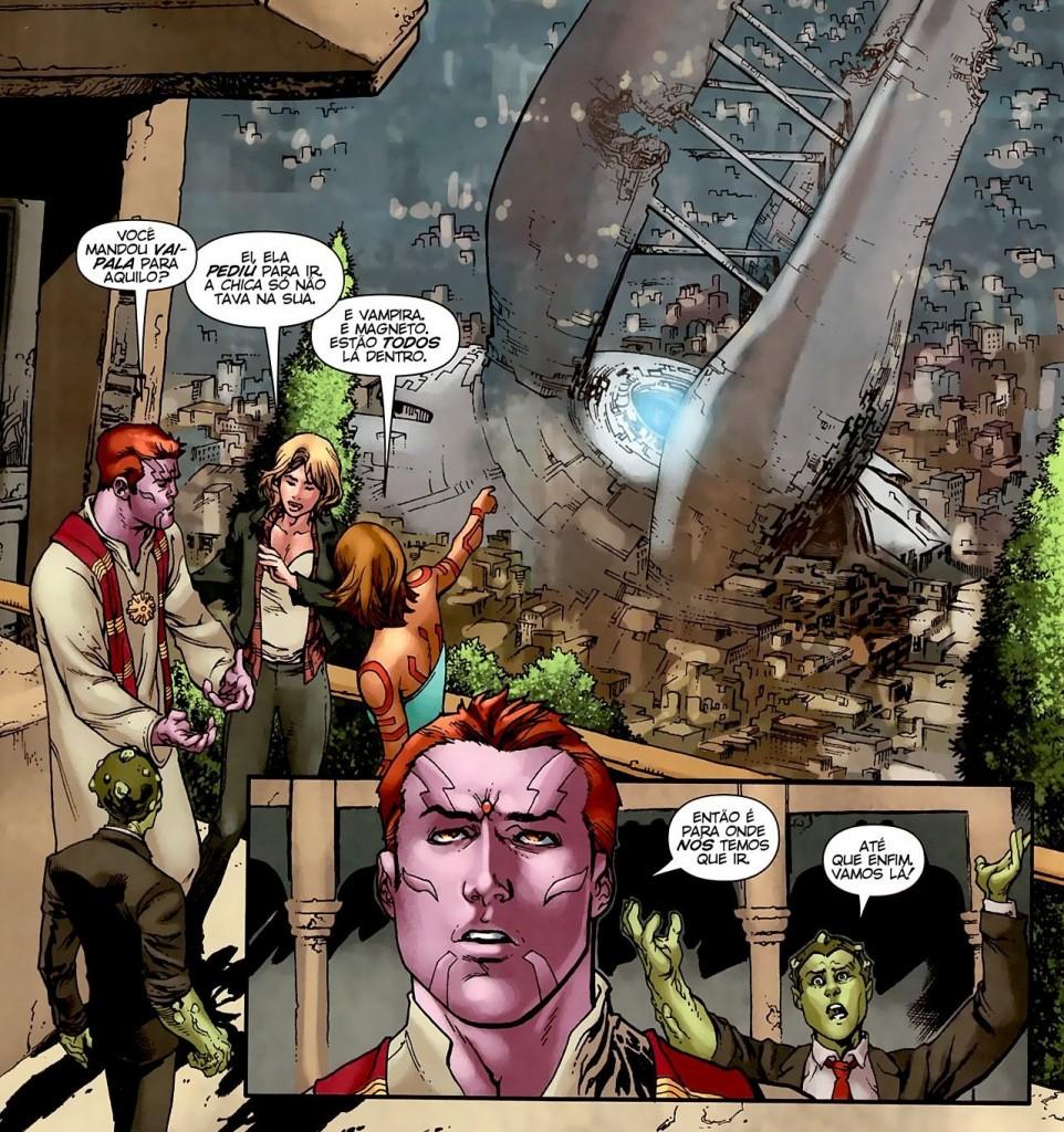X-Men Legado - Colisão e Fábulas da Reconstrução 4