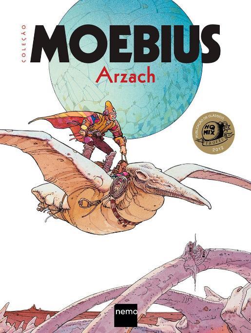 Coleção Moebius Vol. 1 - Arzach Destaque