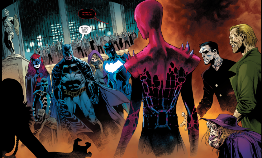 Detective Comics Rebirth - O Sindicato da Vìtima 1