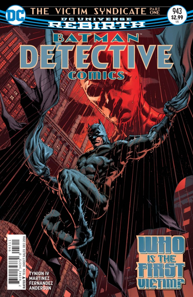 Detective Comics Rebirth - O Sindicato da Vìtima Destaque 1