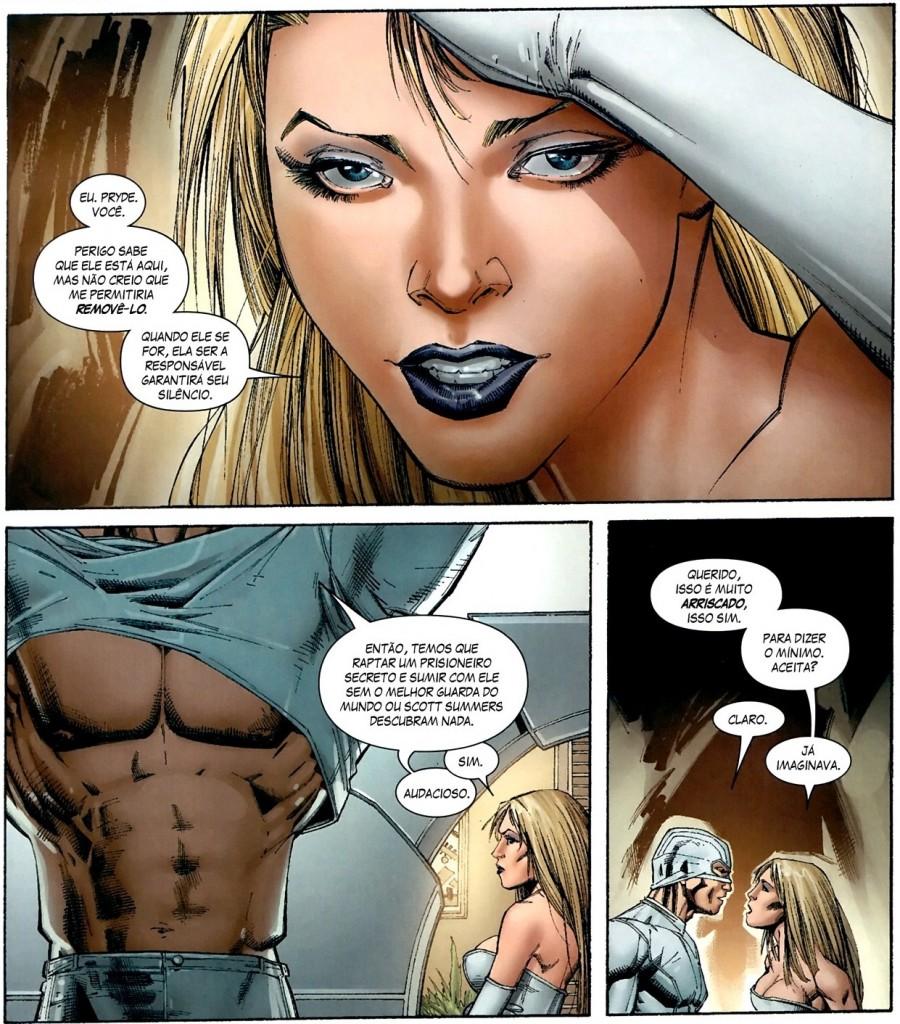 Fabulosos X-Men - A Geração Esperança e Quarentena 4