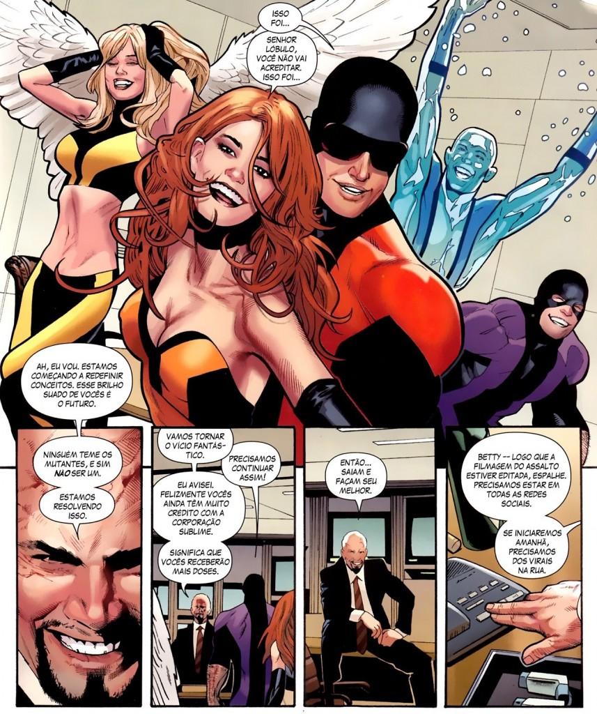 Fabulosos X-Men - A Geração Esperança e Quarentena 5