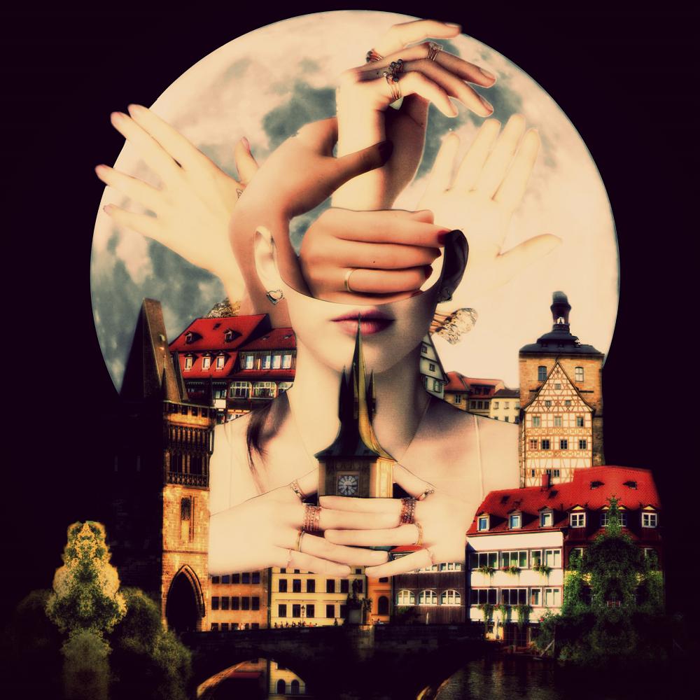Os Rostos Sem Nome - Fil Felix Collage