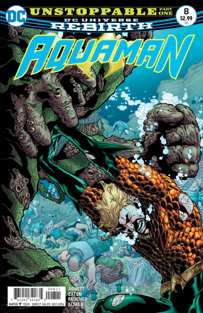 Aquaman Rebirth - O Imparável Destaque 1