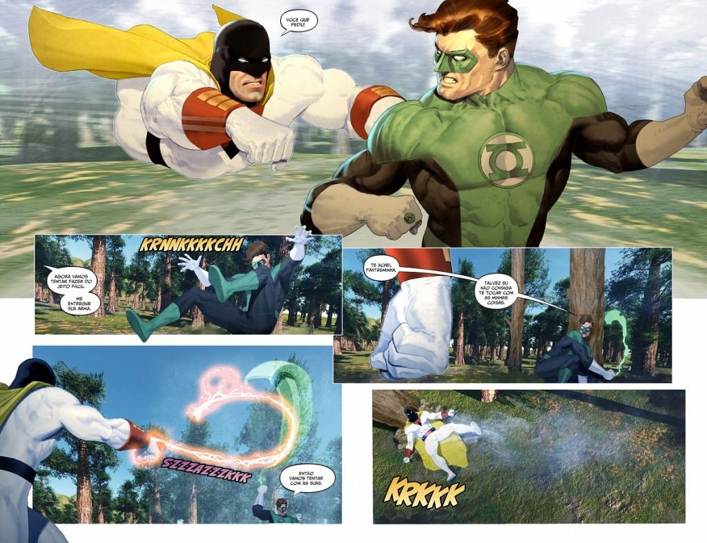 DC - Hanna Barbera - Lanterna Verde e Space Ghost 1