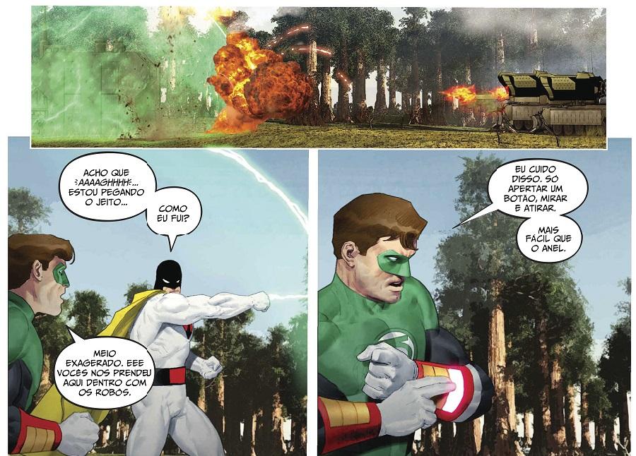 DC - Hanna Barbera - Lanterna Verde e Space Ghost 3