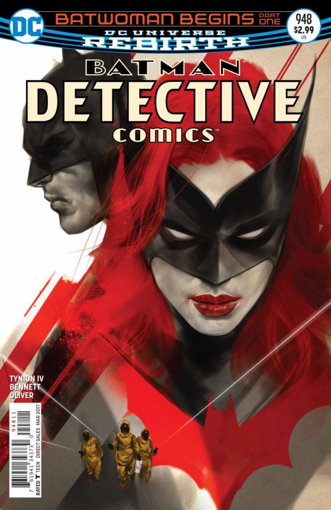 Detective Comics - Batwoman Begins e Edição 950 Destaque 1