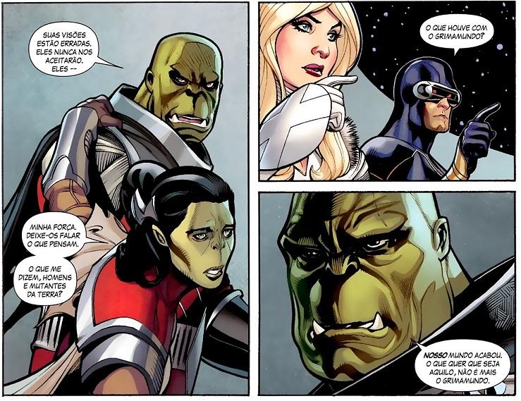 Fabulosos X-Men - Ponto de Ruptura e A Essência do Medo 7