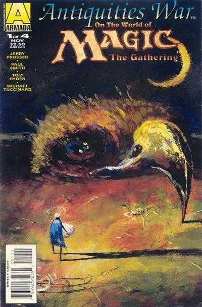 Magic The Gathering - A Guerra das Antiguidades Destaque 1
