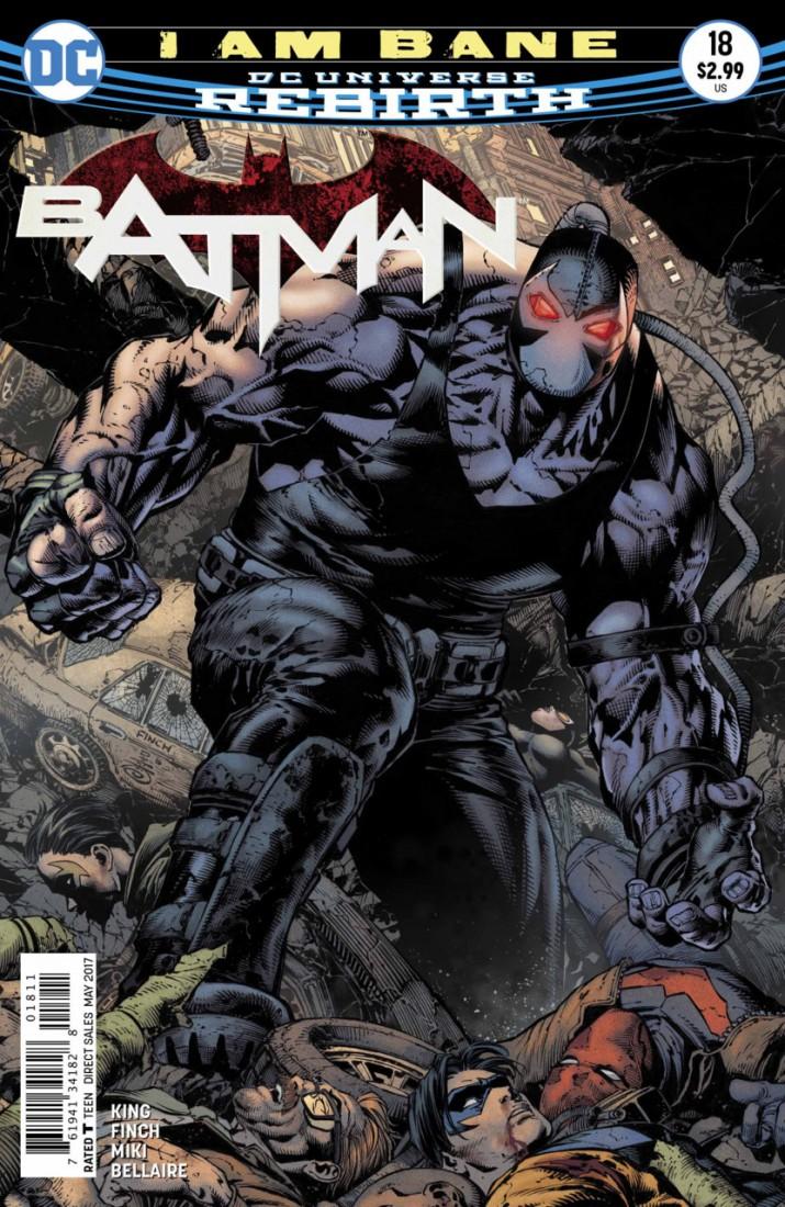 Batman Rebirth - Eu Sou Bane Destaque 1