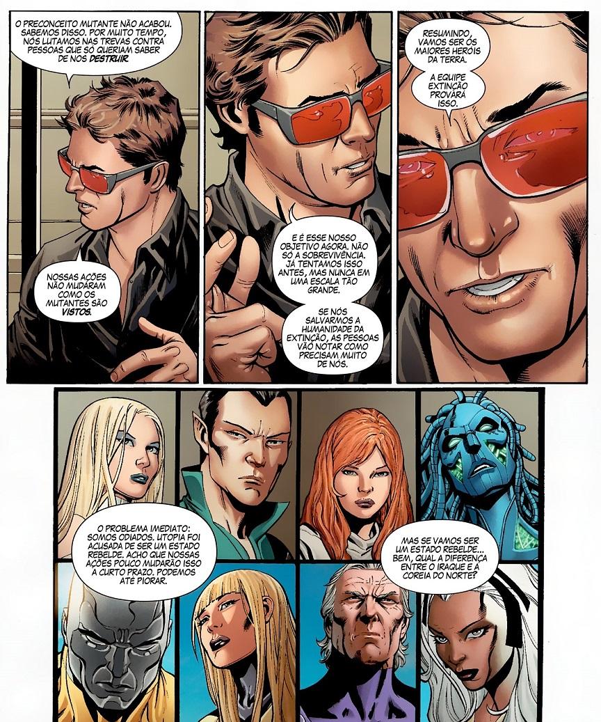 Fabulosos X-Men - Tudo É Sinistro e Tabula Rasa 1