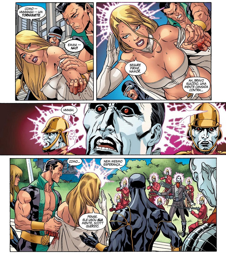 Fabulosos X-Men - Tudo É Sinistro e Tabula Rasa 3