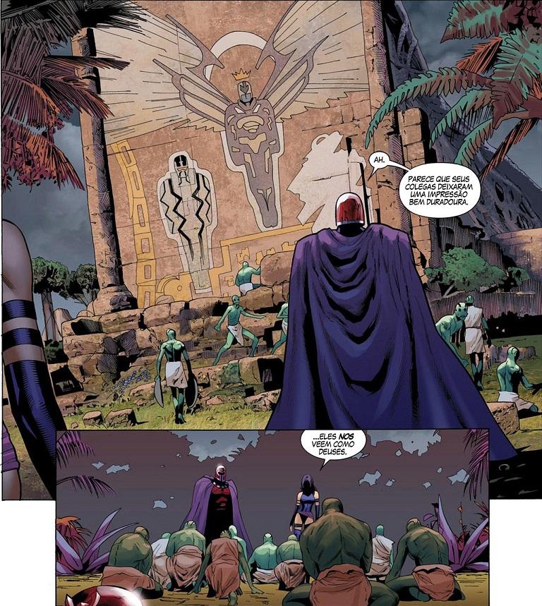 Fabulosos X-Men - Tudo É Sinistro e Tabula Rasa 5